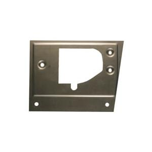 66-70 B-body Door Latch Repair Plate - Pass Side Image