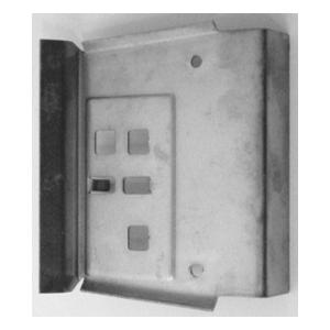 66-70 B-body Door Jamb Repair Plate (Passenger) Image