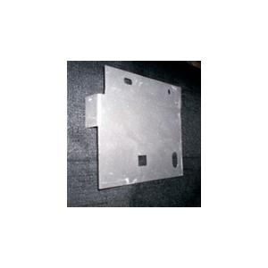68-69 B-body Rear Hinge Mounting Plate - Driver Image